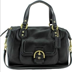 Coach Campbell Leather Satchell Convertible bag LN